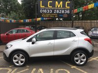 USED 2014 64 VAUXHALL MOKKA 1.7 EXCLUSIV CDTI S/S 5d 128 BHP STUNNING SOVEREIGN SILVER METALLIC, LOVELY GREY MOROCCAN CLOTH INTERIOR, ALLOY WHEELS, FRONT AND REAR PARKING SENSORS, CRUISE CONTROL, BLUETOOTH, CD PLAYER, 2 OWNERS, SERVICE HISTORY, LOW RFL