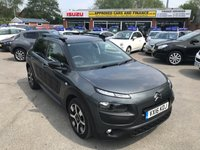 USED 2016 16 CITROEN C4 CACTUS 1.6 BLUEHDI FLAIR 5d 98 BHP IN METALLIC GREY WITH 62,500 MILES AND A FULL SERVICE HISTORY! APPROVED CARS AND FINANCE ARE PLEASED TO OFFER THIS CITROEN C4 CACTUS 1.6 BLUEHDI FLAIR 5 DOOR 98 BHP IN METALLIC GREY WITH 62,500 MILES AND A FULL SERVICE HISTORY AT 9K, 34K, AND 61K. THIS VEHICLE HAS GOT A GREAT SPEC SUCH AS BLUETOOTH, AIR CON, DAB RADIO, REVERSE CAMERA, CRUISE CONTROL AND MUCH MORE. THIS VEHICLE IS EXTREMELY ECONOMICAL AND IN A LOW INSURANCE GROUP AND TAX BAND NOT A VEHICLE TO BE MISSED.
