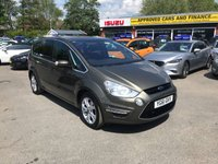 2011 FORD S-MAX 1.6 TITANIUM 5d 158 BHP IN METALLIC GREEN WITH 78,000 MILES AND A FULL SERVICE HISTORY! £7499.00