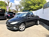 USED 2005 54 PEUGEOT 206 1.6 COUPE CABRIOLET S 2d 110 BHP