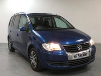 USED 2008 58 VOLKSWAGEN TOURAN 1.9 SE TDI 5d 103 BHP SUNROOF