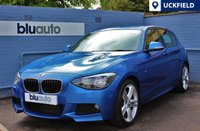 USED 2014 BMW 125 D M SPORT 5DR AUTO 215 BHP Full BMW History, Satellite Navigation, parking sensors, M Sport Styling, Paddle Shift, Bluetooth........