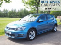 USED 2014 64 VOLKSWAGEN GOLF 1.6 MATCH TDI BLUEMOTION TECHNOLOGY 5d 103 BHP