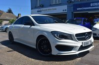 USED 2015 54 MERCEDES-BENZ CLA 2.1 CLA220 CDI AMG SPORT 4d AUTO 170 BHP COMES WITH 6 MONTHS WARRANTY