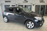 USED 2015 64 VAUXHALL MOKKA 1.7 EXCLUSIV CDTI S/S 5d 128 BHP FINISHED IN STUNNING CARBON FLASH BLACK WITH ANTHRACITE CLOTH SEATS + £30 ROAD TAX + 18 INCH ALLOYS + BLUETOOTH + DAB RADIO + CRUISE CONTROL + PARKING SENSORS + AIR CONDITIONING