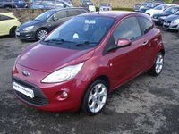 USED 2011 61 FORD KA 1.2 TITANIUM 3d 69 BHP ROAD TAX ONLY £30 A YEAR