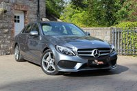 USED 2017 66 MERCEDES-BENZ C CLASS 2.1 C220 D AMG LINE 4d AUTO 170 BHP Reverse Camera, Heated Seats, DAB, Low Miles, Great condition!