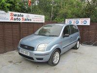 2005 FORD FUSION 1.4 FUSION 2 5d AUTO 78 BHP £1495.00