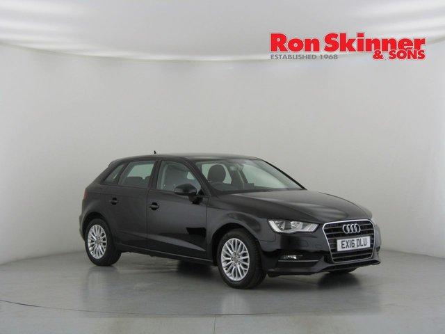 View our 2016 16 AUDI A3 1.6 TDI SE TECHNIK 5d AUTO 109 BHP
