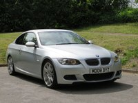 USED 2009 08 BMW 3 SERIES 3.0 325D M SPORT HIGHLINE 2d 195 BHP SAT NAV, HEATED LEATHER & MORE