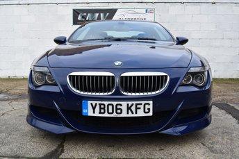 2006 BMW M6  5.0 V10 SMG 2006 M6 FBMWSH Sat Nav, Head up Display £16695.00