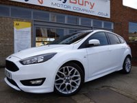 USED 2017 17 FORD FOCUS 1.5 ST-LINE TDCI 5d AUTO 118 BHP FREE ROAD TAX AND SUPER ECONOMICAL AUTOMATIC