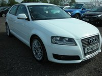 USED 2010 60 AUDI A3 2.0 TDI SPORT 3d 138 BHP Heated seats - Rear sensors - Cheap tax - Recent service