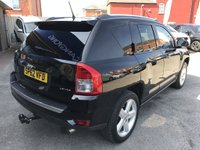 USED 2012 62 JEEP COMPASS 2.4 LIMITED 5d AUTO 168 BHP GOT A POOR CREDIT HISTORY * DON'T WORRY * WE CAN HELP * APPLY NOW *