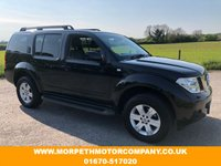 USED 2007 07 NISSAN PATHFINDER 2.5 AVENTURA DCI 5d 169 BHP ***ONE OWNER WITH ONLY 52000 MILES***