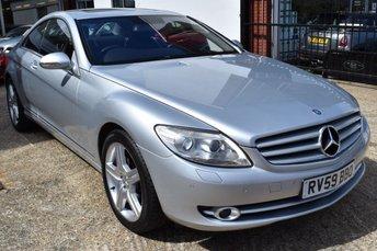 2009 MERCEDES-BENZ CL  5.5 auto 500 £14690.00
