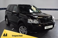 USED 2013 62 LAND ROVER FREELANDER 2.2 TD4 BLACK AND WHITE 5d AUTO 150 BHP (SPECIAL EDITION MODEL)