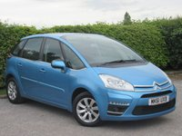 USED 2011 61 CITROEN C4 PICASSO 1.6 VTR PLUS HDI EGS 5d AUTO * AUTOMATIC *  LOW MILEAGE * BLUETOOTH *