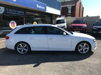 USED 2011 11 AUDI A4 2.7 AVANT TDI S LINE 5d AUTO 187 BHP GOT A POOR CREDIT HISTORY * DON'T WORRY * WE CAN HELP * APPLY NOW *