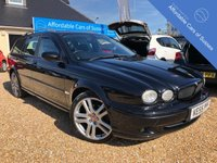USED 2005 55 JAGUAR X-TYPE 2.5 V6 SPORT 5d AUTO 195 BHP Heated Black Leather Seats