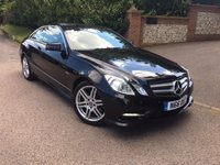 2012 MERCEDES-BENZ E CLASS 2.1 E250 CDI BLUEEFFICIENCY S/S SPORT 2d AUTO 204 BHP PLEASE CALL TO VIEW £10950.00