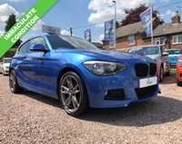 USED 2013 13 BMW 1 SERIES 2.0 120D M SPORT 3d 181 BHP