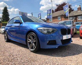 2013 BMW 1 SERIES 2.0 120D M SPORT 3d 181 BHP £12995.00
