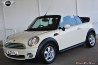 2009 MINI CONVERTIBLE 1.6i COOPER CONVERTIBLE 6-SPEED 120 BHP £SOLD