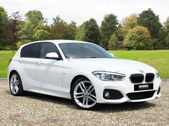2015 BMW 1 SERIES 2.0 120D M SPORT 5d AUTO 188 BHP £14799.00