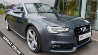 USED 2013 13 AUDI A5 3.0 TDI QUATTRO S LINE SPECIAL EDITION 2d AUTO 242 BHP FANTASTIC VALUE+LOVELY EXAMPLE+GREAT SPEC+BANG & OLUFSEN+HEATED SEATS+PARK SENSORS+DAB RADIO