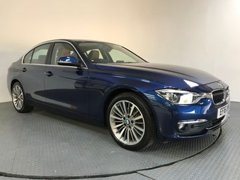 2016 BMW 3 SERIES 2.0 320D LUXURY 4d 188 BHP £16400.00