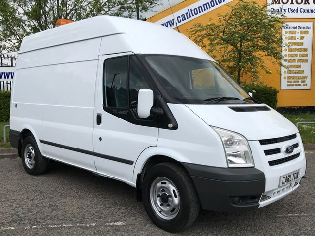2011 61 FORD TRANSIT 2.4 T350m [ MOBILE WORKSHOP+PTO COMPRESSOR ] HI/R VAN