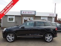 USED 2012 12 VOLKSWAGEN TOUAREG 3.0 V6 ALTITUDE TDI BLUEMOTION TECHNOLOGY 5DR AUTOMATIC  DIESEL 242 BHP
