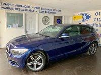 2016 BMW 1 SERIES 1.5 116D SPORT 3d 114 BHP £11495.00