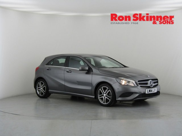 View our 2014 14 MERCEDES-BENZ A CLASS 1.6 A180 BLUEEFFICIENCY SPORT 5d 122 BHP