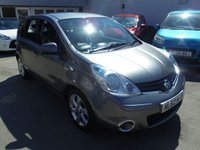 2012 NISSAN NOTE 1.4 ACENTA 5d 88 BHP