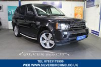 USED 2013 13 LAND ROVER RANGE ROVER SPORT 3.0 SDV6 HSE BLACK 5d 255 BHP +++Low Deposit Finance Available ++