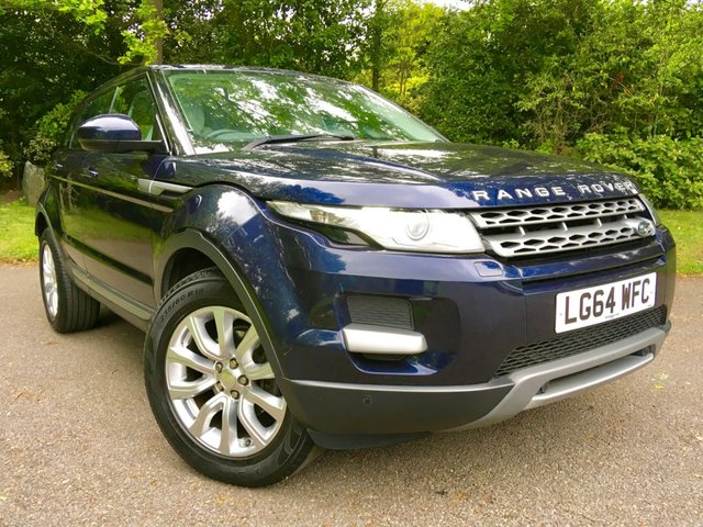 2014 64 LAND ROVER RANGE ROVER EVOQUE 2.2 SD4 PURE TECH 5d 190 BHP''ONLY 26,600 MILES WITH FULL SERVICE HISTORY