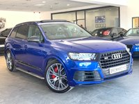 "USED 2017 17 AUDI SQ7  SQ7 TDI QUATTRO 5d AUTO 429 BHP PAN ROOF+HEAD-UP+22"" ALLOYS"