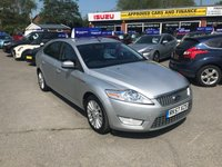 2007 FORD MONDEO 2.0 TITANIUM X TDCI 5d 140 BHP IN METALLIC SILVER WITH A FULL SERVICE HISTORY AND 89,500 MILES £2999.00