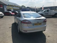 USED 2007 57 FORD MONDEO 2.0 TITANIUM X TDCI 5d 140 BHP IN METALLIC SILVER WITH A FULL SERVICE HISTORY AND 89,500 MILES APPROVED CARS AND FINANCE ARE PLEASED TO OFFER THIS FORD MONDEO 2.0 TITANIUM TDCI X 5 DOOR 140 BHP IN METALLIC SILVER WITH 89,500 MILES AND A SERVICE HISTORY. THIS VEHICLE HAS A MASSIVE SPEC SUCH AS BLUETOOTH, ALLOYS, HEATED SEATS, ELECTRIC WINDOWS, CLIMATE CONTROL AND MUCH MORE. THIS IS A PERFECT FAMILY VEHICLE AT A VERY CHEAP AND REASONABLE PRICE WITH A SERVICE HISTORY NOT A VEHICLE TO BE MISSED!