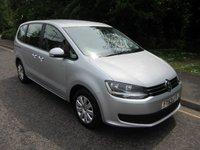 2014 VOLKSWAGEN SHARAN 2.0 S TDI DSG 5d AUTO 142 BHP £9990.00
