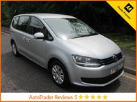 USED 2014 63 VOLKSWAGEN SHARAN 2.0 S TDI DSG 5d AUTO 142 BHP Fantastic Value Automatic Volkswagen Sharan with Seven Seats, Air Conditioning, Alloy Wheels and Service History