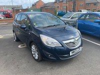 USED 2013 13 VAUXHALL MERIVA 1.4 SE 5d AUTO 118 BHP TOP SPEC SE MODEL WITH - PANORAMIC ROOF, PRIVACY GLASS, AIR CONDITIONING, PARKING SENSORS, ALLOY WHEELS AND HALF LEATHER TRIM. MEETS CURRENT LARGE CITY EMISSION STANDARDS!