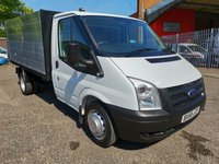 2009 FORD TRANSIT 350 MWB Single Cab Alloy Tipper *NO VAT + ONLY 58k* £SOLD