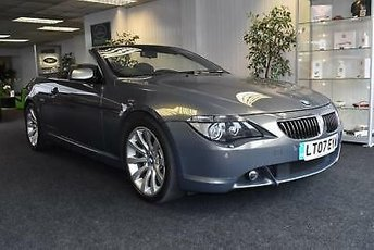 2007 BMW 6 SERIES 4.8 auto 2007MY i Sport Convertible £SOLD