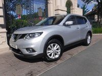 USED 2016 16 NISSAN X-TRAIL 1.6 DCI ACENTA 5d 130 BHP ****FINANCE ARRANGED****PART EXCHANGE WELCOME***1OWNER*PAN ROOF*CRUISE*LANE KEEP*BLUETOOTH*2KEYS*AUX