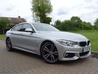 USED 2015 15 BMW 4 SERIES 2.0 420I XDRIVE M SPORT GRAN COUPE 4d AUTO 181 BHP