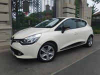USED 2016 16 RENAULT CLIO 1.5 DYNAMIQUE NAV DCI 5d AUTO 89 BHP *** FINANCE & PART EXCHANGE WELCOME *** 1 OWNER DIESEL AUTOMATIC £ 0 FREE ROAD  TAX SAT/NAV BLUETOOTH PHONE AIR/CON CRUISE CONTROL