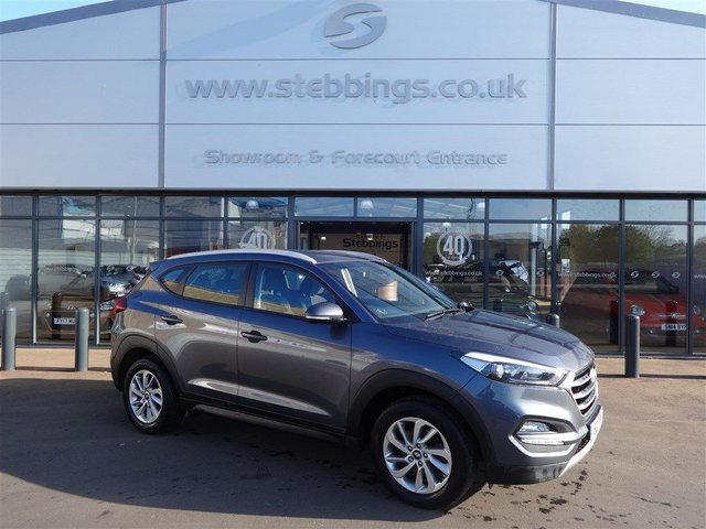 HYUNDAI TUCSON at Stebbings